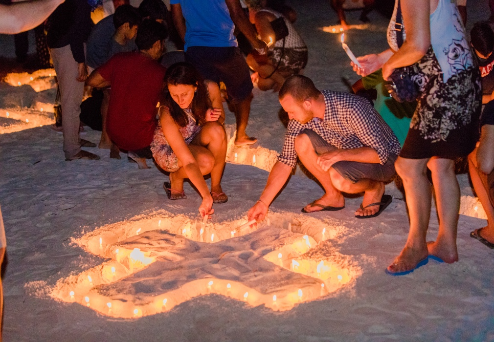 Earth Hour Maldives 2018