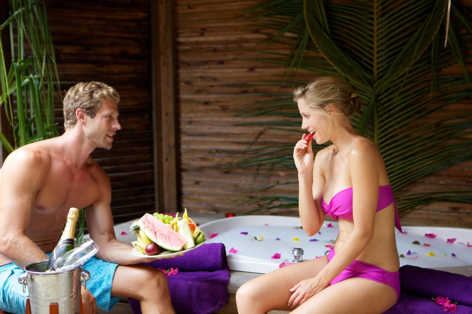 Romantic Jacuzzi Maldives