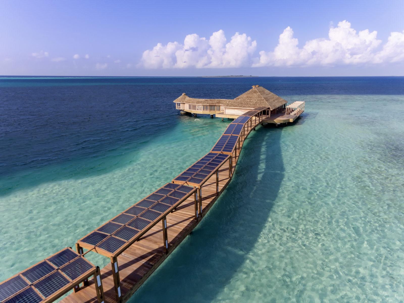 Hurawalhi Maldives arrival jetty