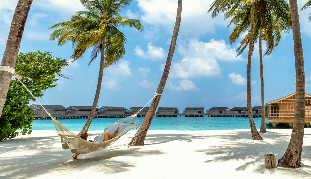 Hammock on the beach atKudadoo Maldives