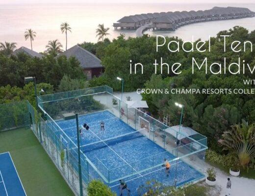 Padel Tennis in the Maldives