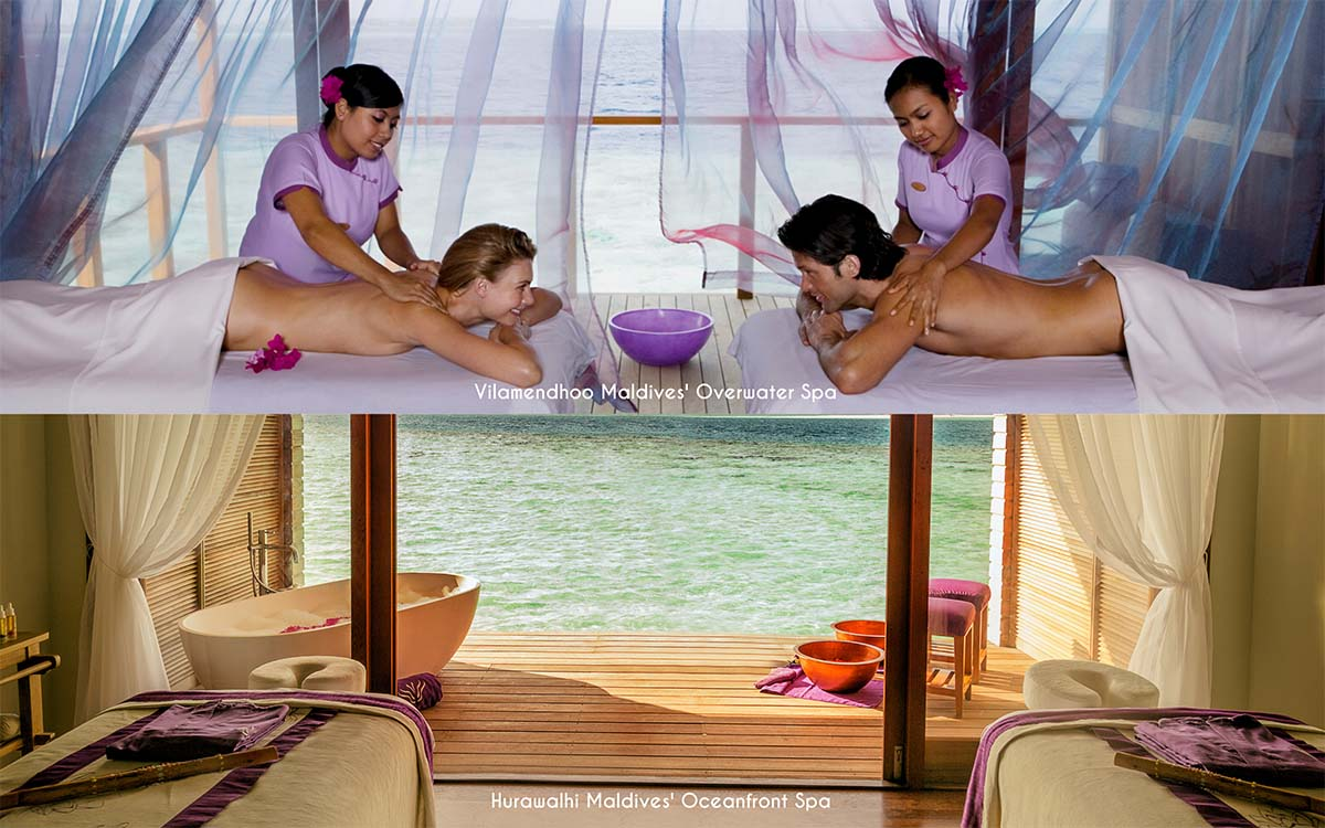 The best overwater spas in the Maldives