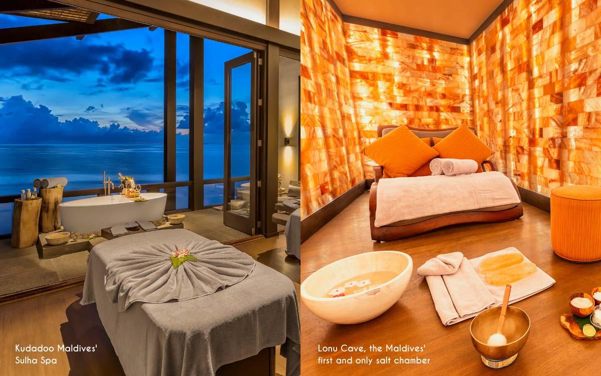 The luxury Maldives Sulha Spa @ Kudadoo