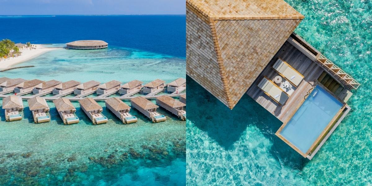 Kagi Maldives Spa Island - Overwater Ocean and Lagoon Pool Villas