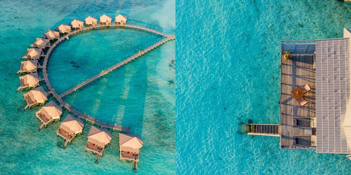 Komandoo Island Resort & Spa - Overwater Villas with Jacuzzi