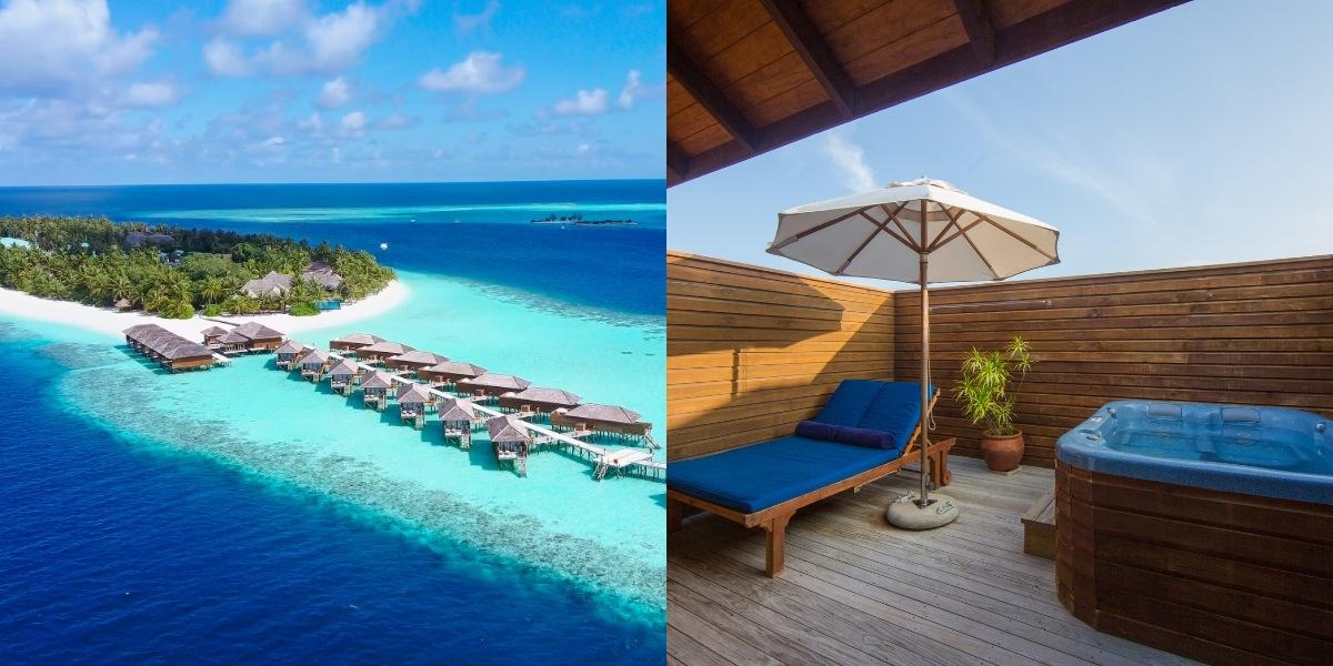 Vilamendhoo Island Resort & Spa - Jacuzzi Water Villas
