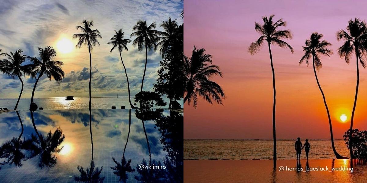 The Maldives' Most Instagrammable Spots - Meeru Island Resort & Spa