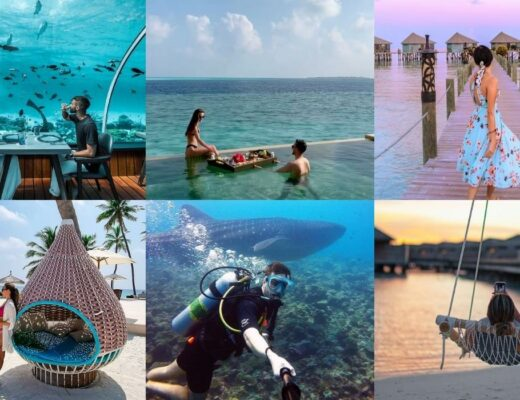 The Maldives' Most Instagrammable Spots