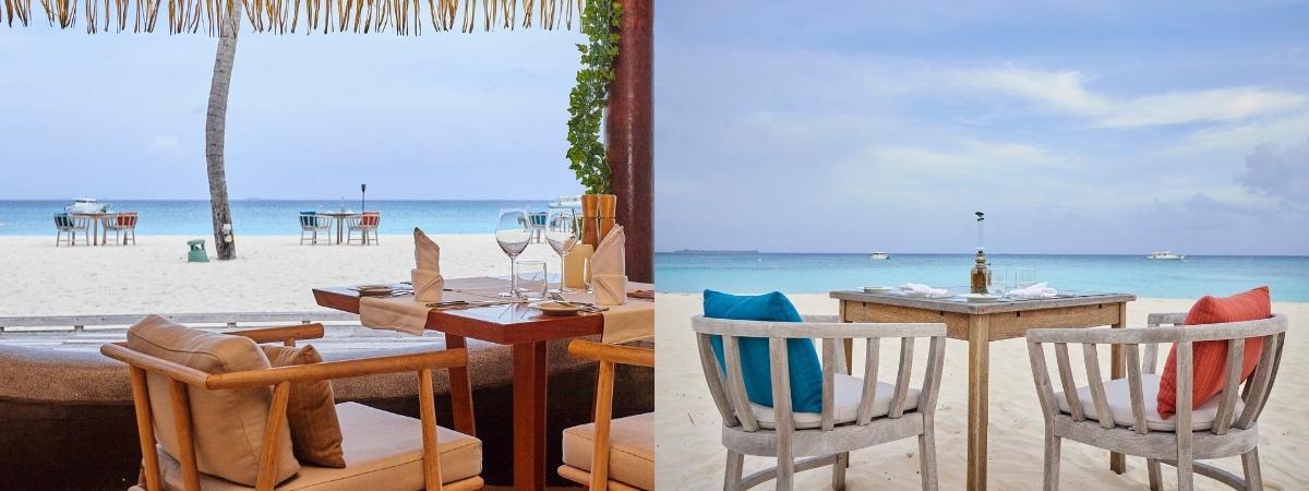 Seafood & Vegan Cuisine - Kuredu's Beach Shack Maldives