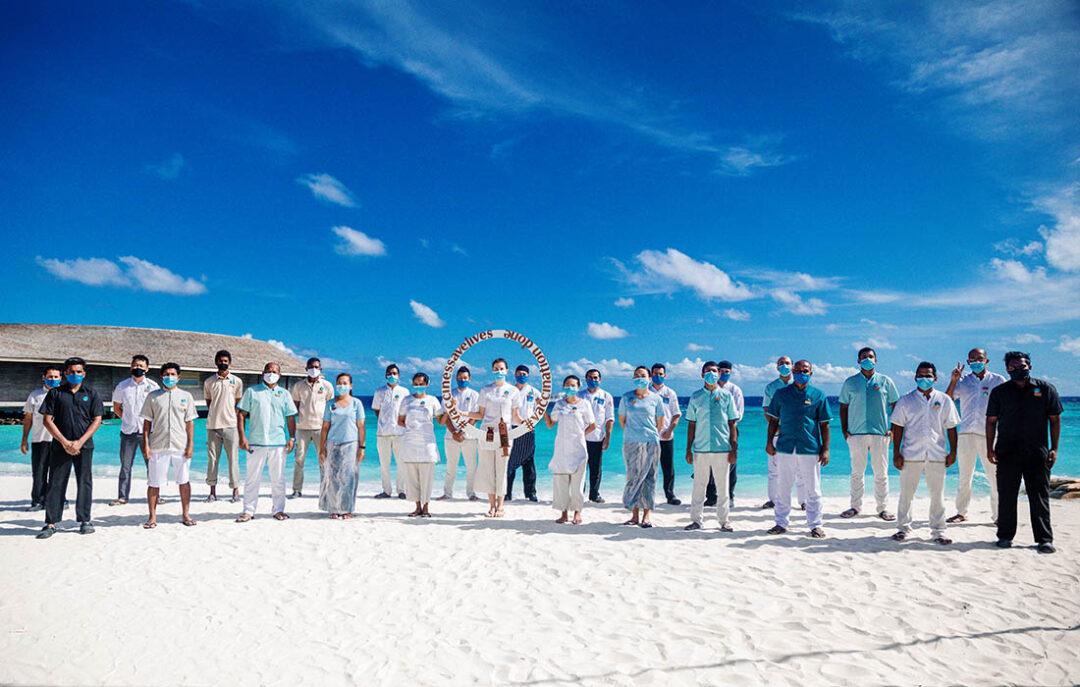 We Are Vaccinated - Crown & Champa Resorts Maldives