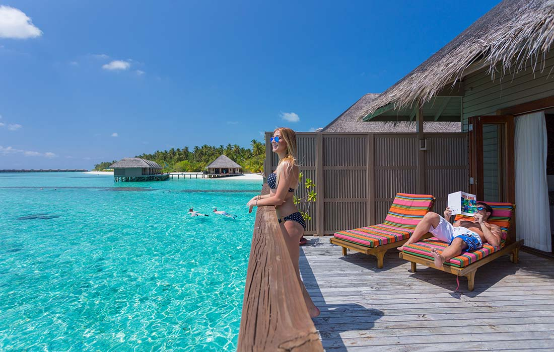 Traveling to The Maldives - Crown & Champa Resorts